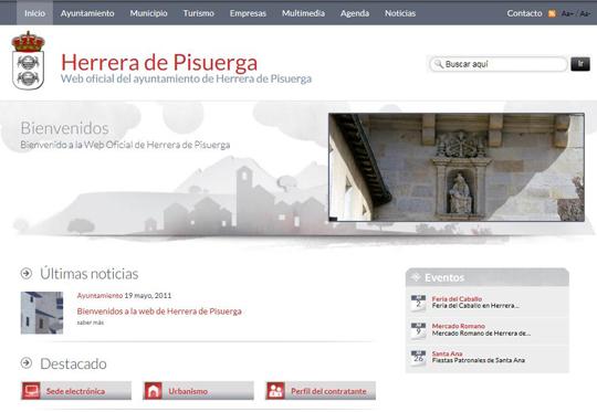 Portada Herrera de Pisuerga