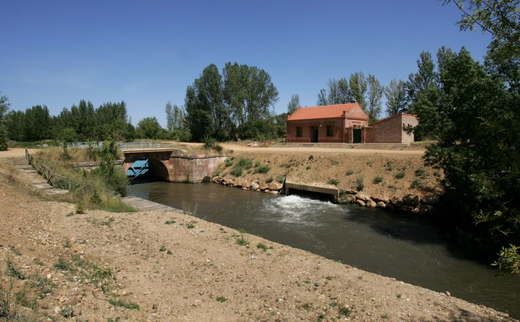 El Canal de Castilla, sexta esclusa