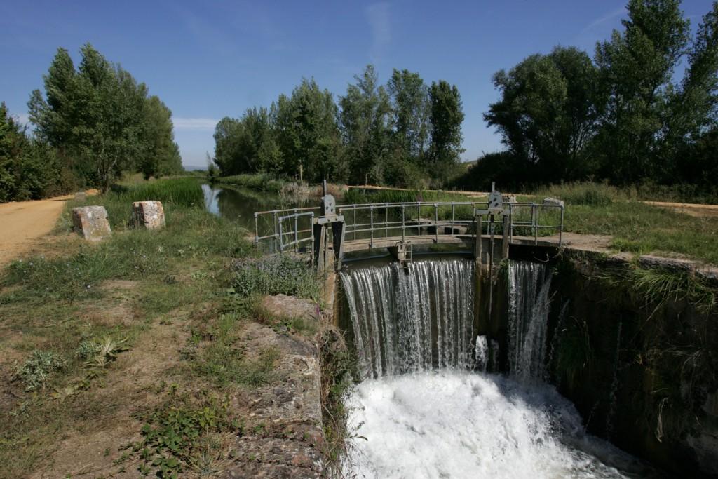 El Canal de Castilla, sexta esclusa antigua