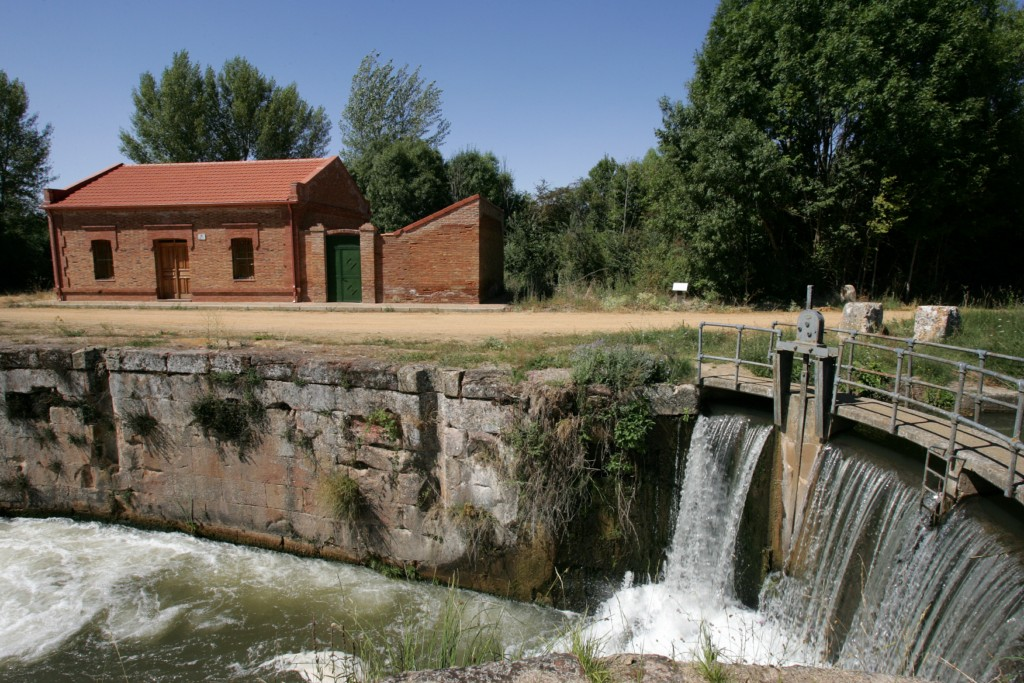 El Canal de Castilla, quinta esclusa