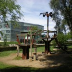 El Parque. Zona de juegos infantiles.