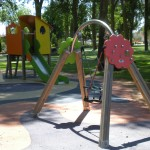 El Parque. Zona de juegos infantiles
