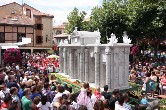 Vista del Desfile en la Plaza