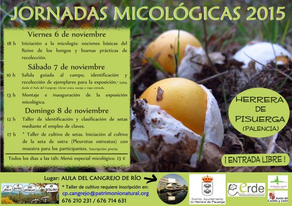 1Jornadas micológicas 2015