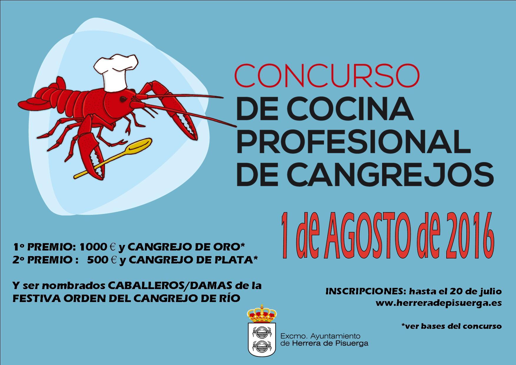Concursos Cocina | Herrera De Pisuerga Concurso De Cocina Profesional De Cangrejos