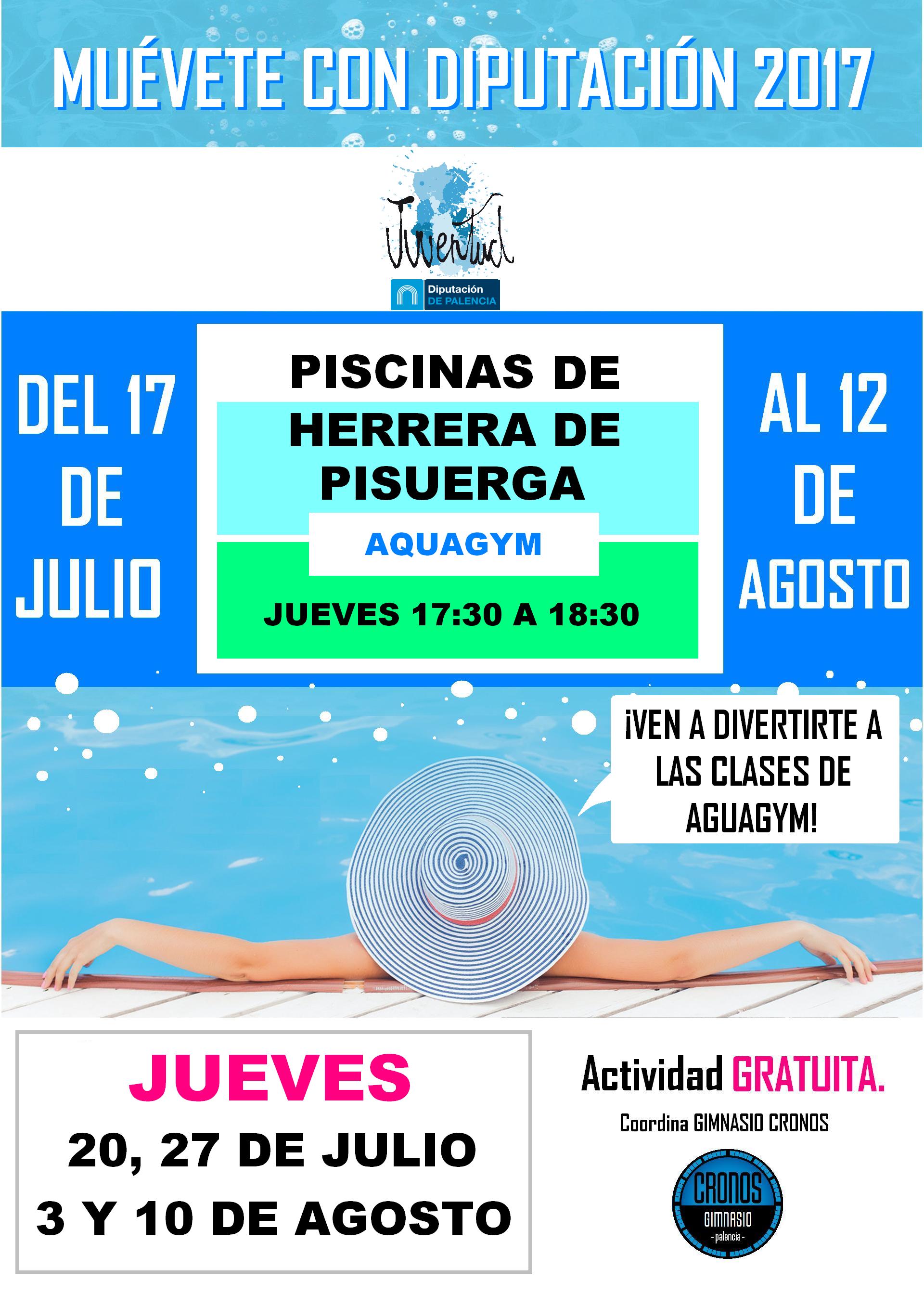 Herrera de pisuerga actividades en las piscinas municipales for Piscinas municipales palencia