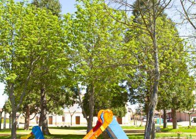 Plaza del Albero. Zona infantil